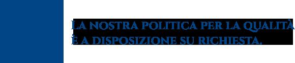 Politica per la Qualità Riccardo Lentini